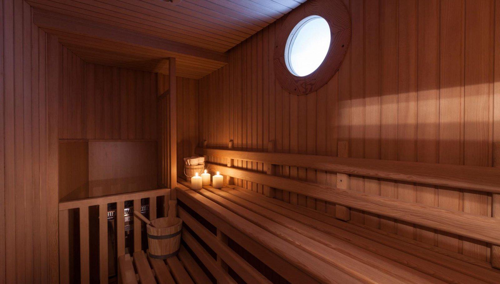 Luxury yacht PRIDE - Sauna