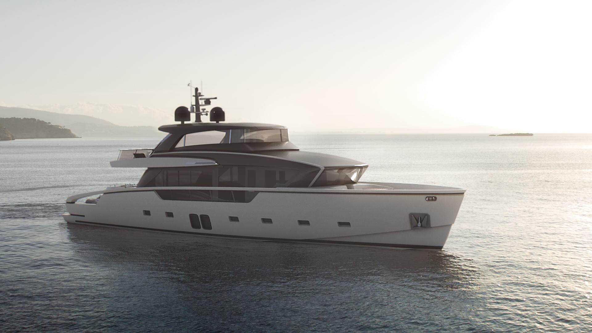 Luxury yacht SX88 - Built by Sanlorenzo