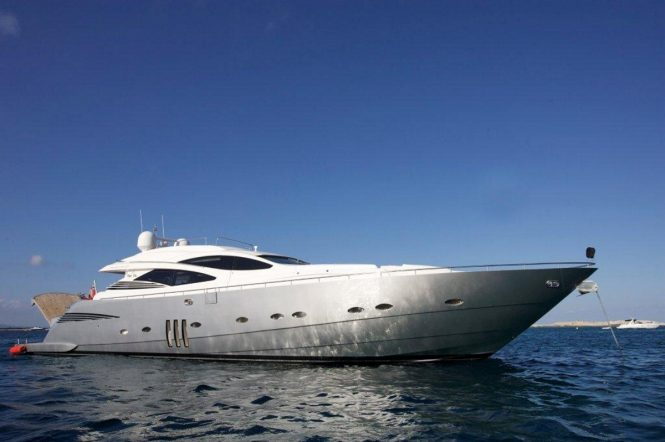 Luxury yacht TIGER LILY OF LONDON - Built by Pershing