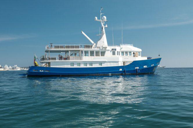 Motor yacht ALTER EGO - Built by WGB Werft