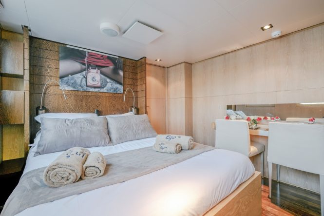Motor yacht ALTER EGO - Master suite
