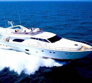 Special offer: Charter motor yacht Amor in Greece at a reduced rate