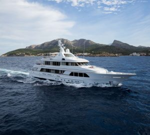 Live life to the fullest when you charter M/Y Go in the Western Mediterranean