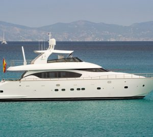 Special offer: Reduced charter rate with luxury yacht Lex in the Balearic Islands