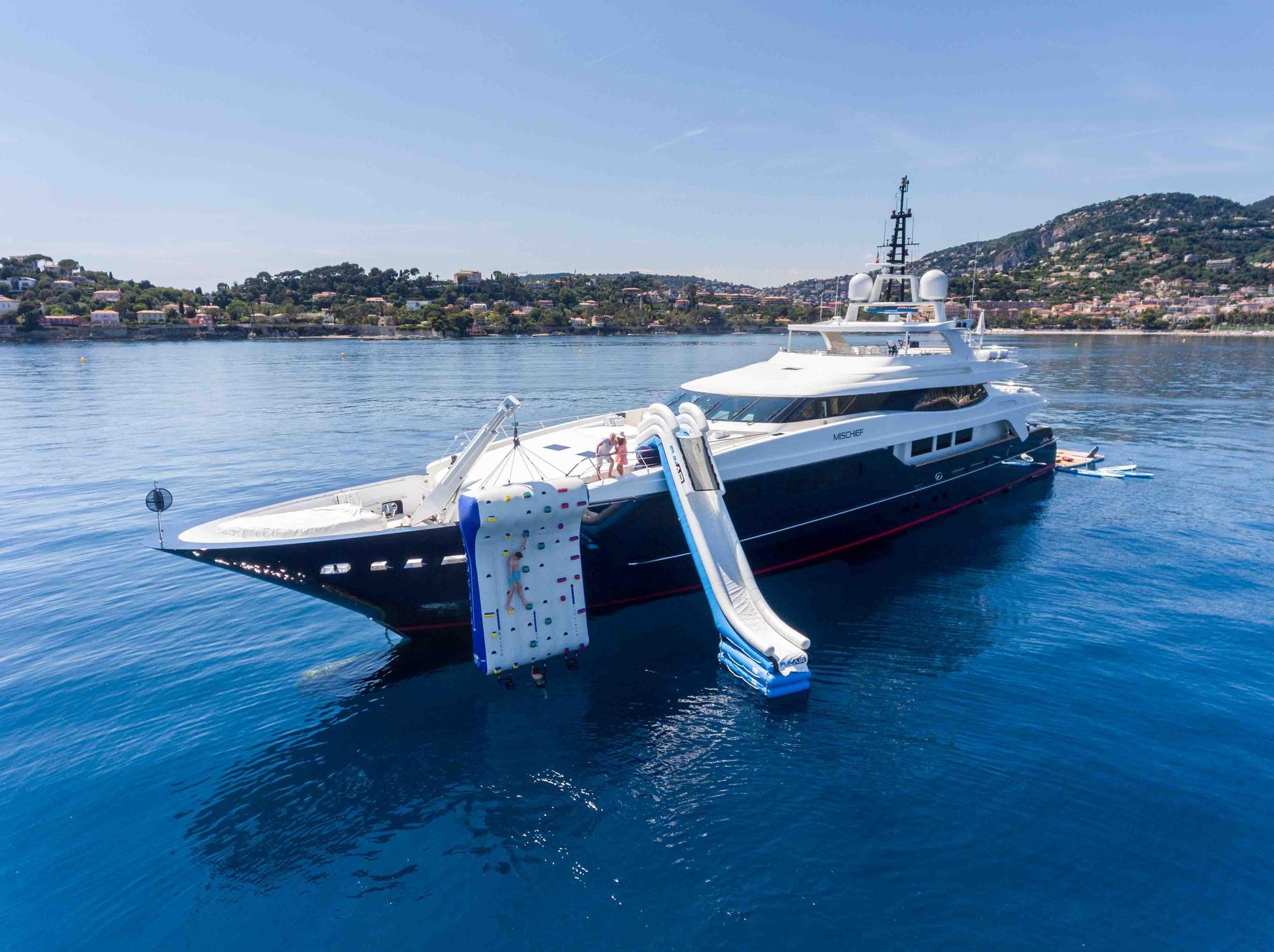Motor yacht MISCHIEF - Built by Baglietto