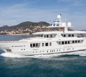 Modern performance, classic style: Charter luxury yacht Pride in Croatia