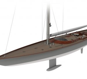 Spirit Yachts unveils largest wooden yacht concept since 1930s Shamrock V