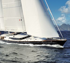 Sailing yacht Drumbeat ready for winter charters in the Caribbean