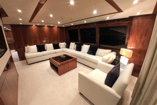 Skylounge aboard M/Y BARRACUDA RED SEA