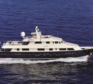 Charter superyacht Magix in the Eastern Mediterranean
