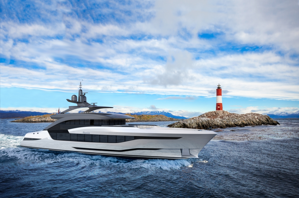 Superyacht NAVARINO profile - Concept image from Moonen