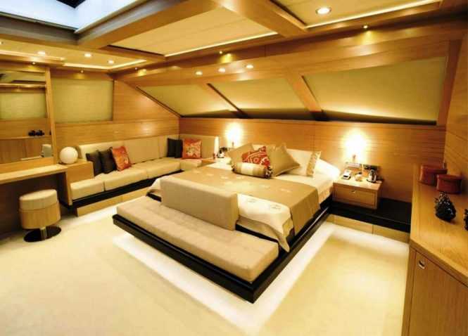 Superyacht PANFELISS - Master suite