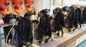 Superyacht SAMAYA - Scuba diving equipment