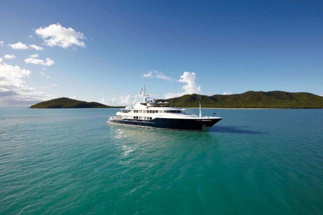 Superyacht UNBRIDLED - Built by Trinity Yachts