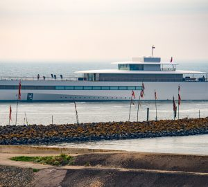 Video: Steve Jobs superyacht Venus heads to Feadship facilities for refit