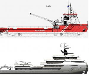 Icon Yachts reveals newest conversion: 'Project Ragnar'