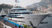 110m Oceanco mega yacht Jubilee at MYS 2017