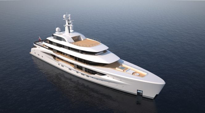 78m Amels custom superyacht designed by Espen Oeino