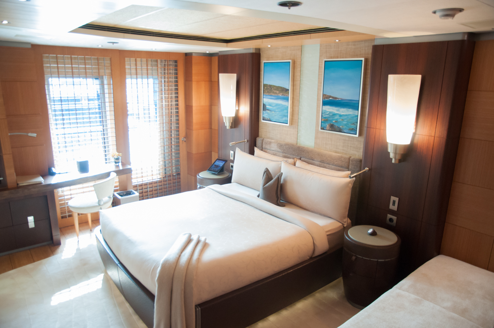 ANASTASIA at MYS - double guest cabin interior with pullman