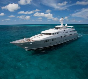 Cruise anywhere in the Caribbean with luxury charter yacht Dream