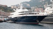Anastasia at Monaco Yacht Show 2017