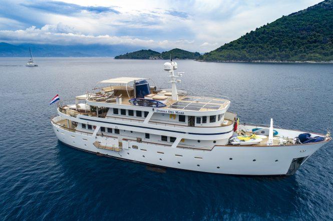 Donna Del Mare in the Eastern Mediterranean - Croatia