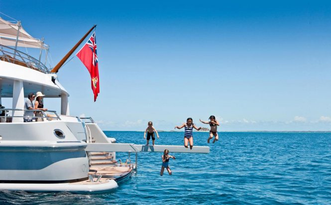 Kids on a Luxury Yacht Charter
