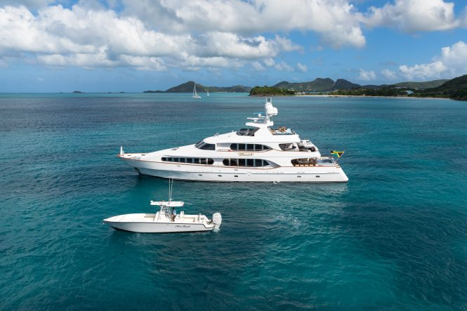 Louisbourg Yachts M/Y TOUCH - Ready for charter in the Caribbean and Bahamas