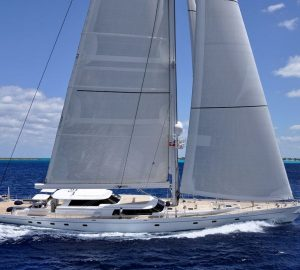 Charter award-winning sailing yacht Hyperion in the Caribbean and Bahamas