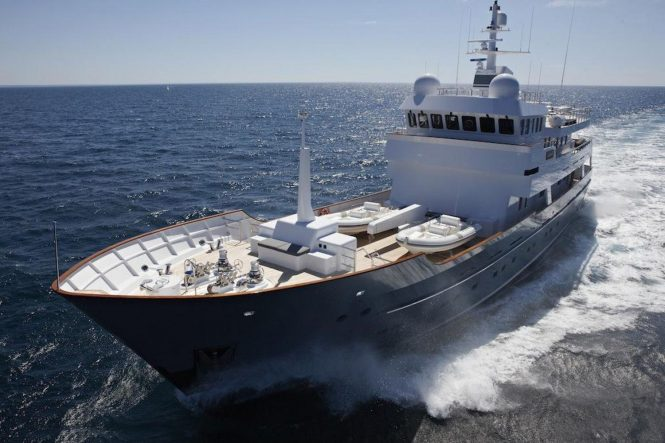 Luxury yacht AXANTHA II from JFA Yachts