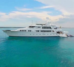 Luxury yacht Grand Illusion ready for Caribbean and Bahamas charters
