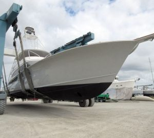 Jarret Bay launches sportfish yacht Project Ireland, renamed Jaruco