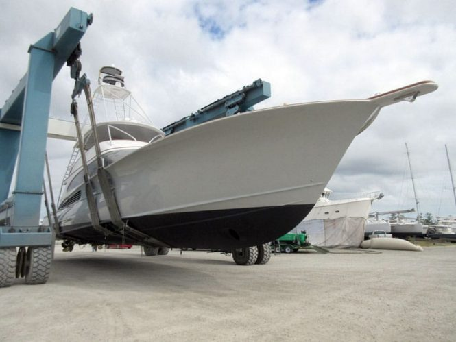 Luxury yacht JARUCO - Built by Jarret Bay