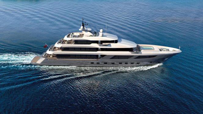 Luxury yacht MAJESTY 175 - Concept profile image from Gulf Craft