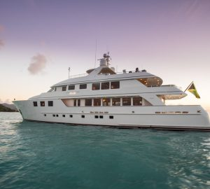 Charter timeless superyacht Mim in the Caribbean and Bahamas