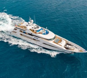 Get ready for the winter charter season in the Caribbean and Bahamas with M/Y Trending