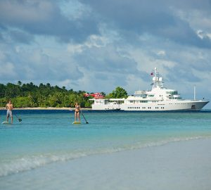 Charter luxury yacht Senses among the exotic islands of Thailand