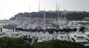 Monaco Yacht Show panoramic view