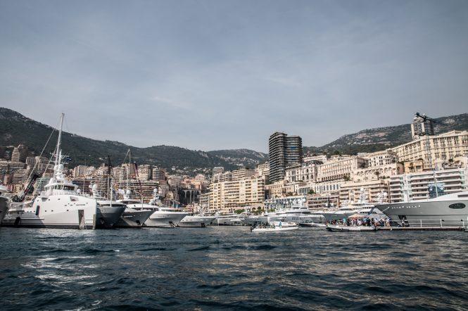 Monaco during the 2017 Monaco Yacht Show
