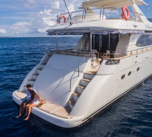 Special offer: Charter luxury yacht Nawaimaa in the Maldives at a great introductory rate