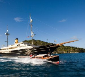 Charter mega yacht NERO in the Caribbean and Bahamas