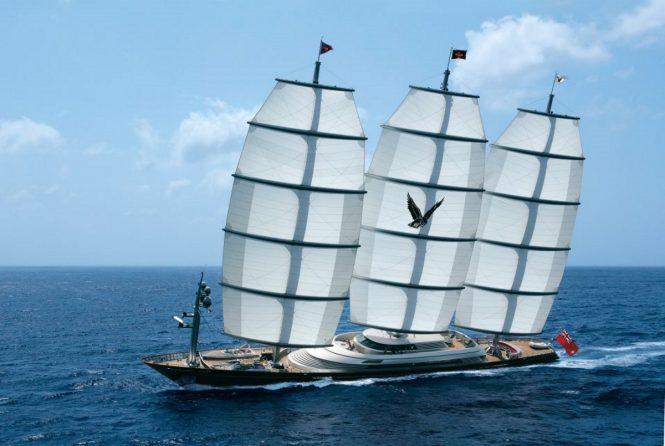 Perini Navi mega yacht MALTESE FALCON