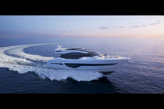 Princess Yachts sportsbridge yacht S78