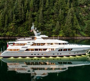 Charter 2017-built superyacht Endless Summer in South Pacific locations New Zealand and Fiji