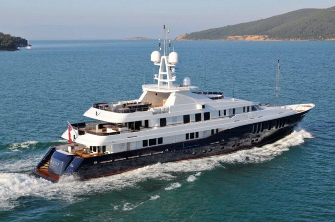 Superyacht SEQUEL P - Built by Turquoise Yachts