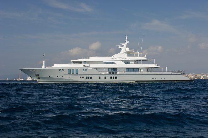 Superyacht SIREN - Photo credit Nobiskrug Shipyard