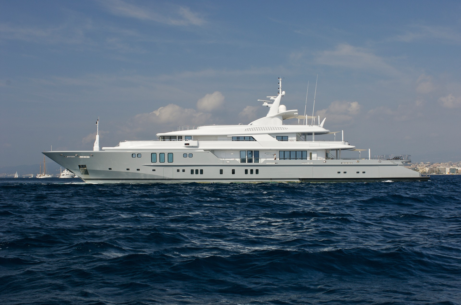 Superyacht SIREN - Photo credit Nobiskrug Shipyard