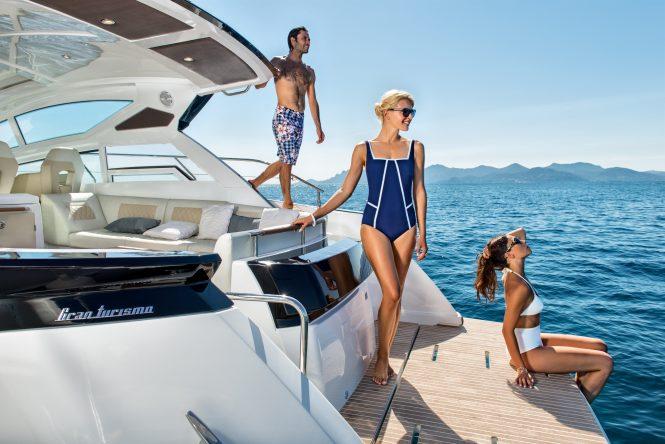 Swim Platform - A Mediterranean Yacht