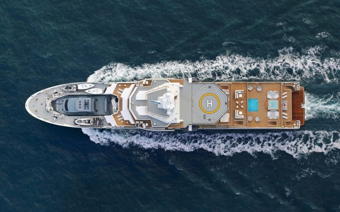 107m mega yacht Ulysses sold to new owner — Yacht Charter