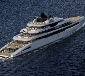 Three state-of-the-art superyacht concepts